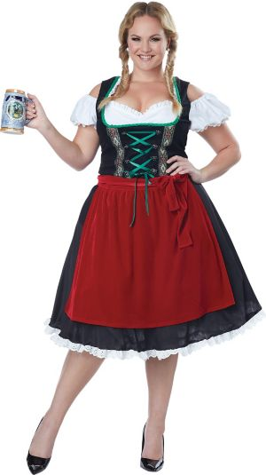 Adult Oktoberfest Beer Wench Costume