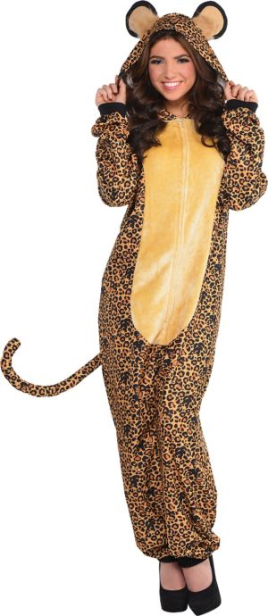 Zipster Leopard One Piece Costume