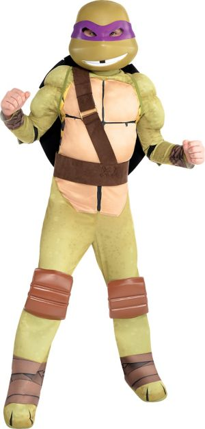 Boys Donatello Muscle Costume - Teenage Mutant Ninja Turtles