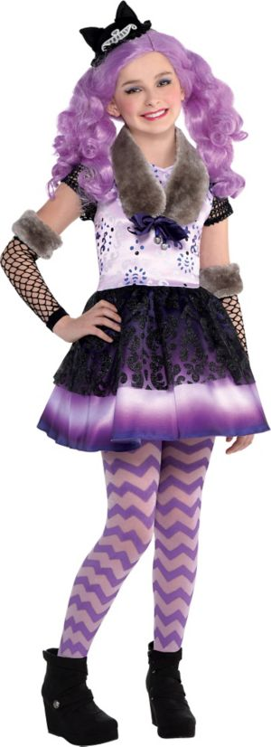 Girls Kitty Cheshire Costume Ever After High Party