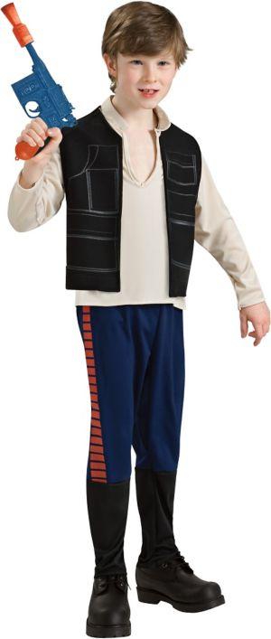 Boys Han Solo Costume - Star Wars