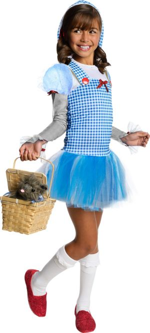 Girls Hooded Dorothy Tutu Costume - The Wizard of Oz