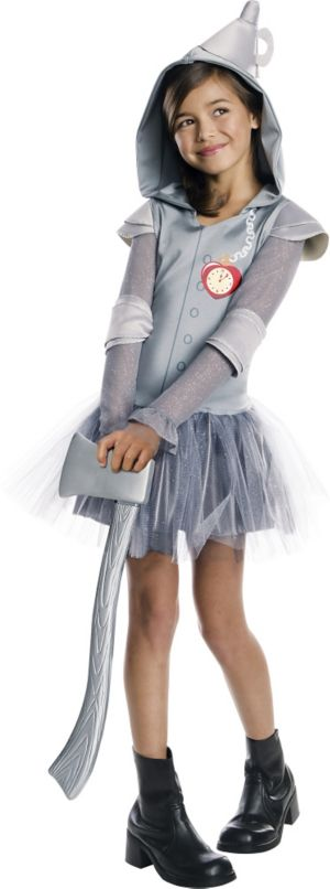 Girls Hooded Tin Man Tutu Costume - The Wizard of Oz