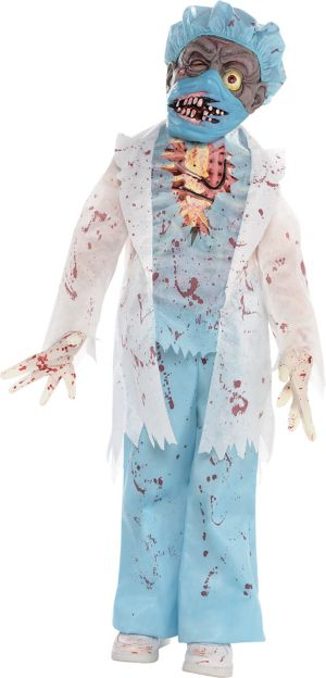 Little Boys Surgeon Zombie Costume