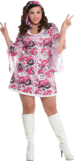 Adult Ivanna Go Go Costume Plus Size