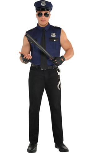 Adult Under Arrest Cop Costume