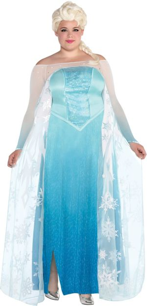 Adult Elsa Costume Plus Size - Frozen