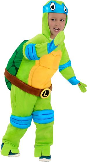 Baby Leonardo Jumpsuit Costume - Teenage Mutant Ninja Turtles
