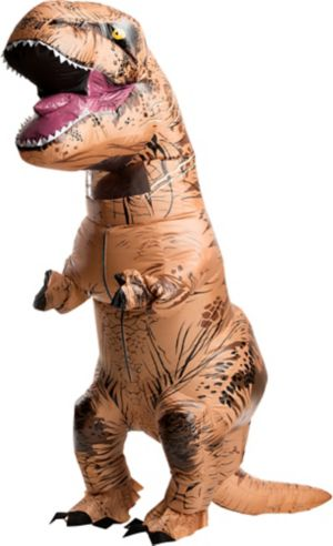 Adult Inflatable T Rex Dinosaur Costume Jurassic World