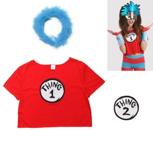Thing 1 & Thing 2 Costume Accessory Kit 2pc - Dr. Seuss