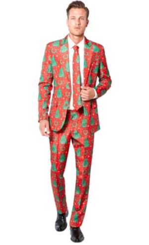 Adult Christmas Trees Suit