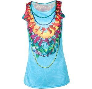 Tropical Lei Tank Top