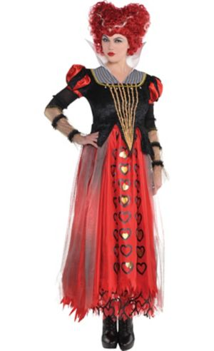 Adult Red Queen Costume - Alice Through the Looking Glass