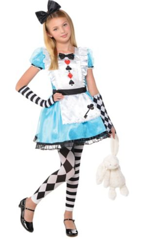 Girls Alice Costume
