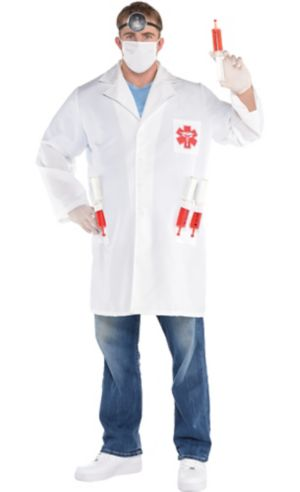Adult Hot Shot Doctor Costume Plus Size