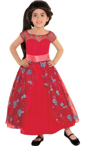 Girls Elena of Avalor Ball Gown Costume