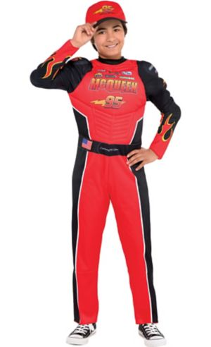 Boys Lightning McQueen Costume - Cars