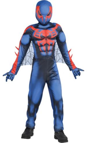 Boys Spider-Man 2099 Muscle Costume