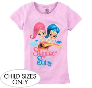 Child Pink Shimmer and Shine T-Shirt