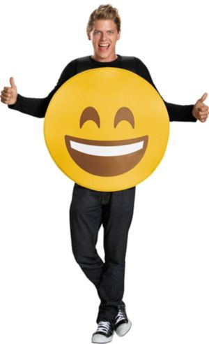 Adult Smiley Costume
