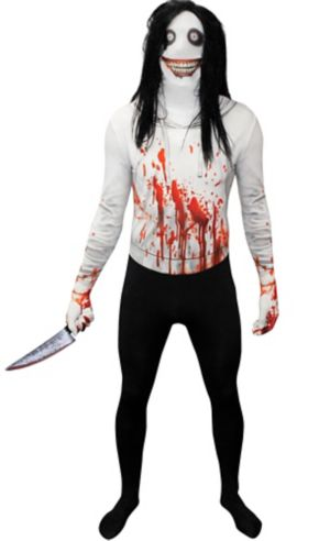 Adult Jeff the Killer Morphsuit