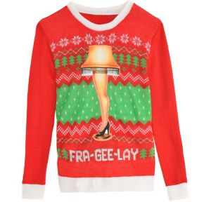 Leg Lamp Ugly Christmas Sweater - A Christmas Story