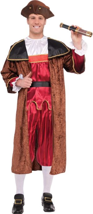 Adult Christopher Columbus Costume