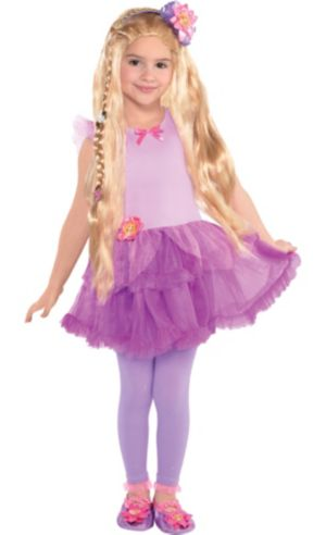 Girls Rapunzel Costume - Tangled