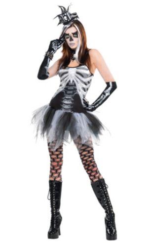 Adult Skeleton Costume Deluxe