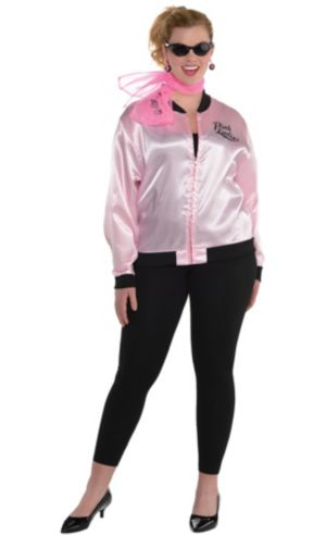Adult Pink Ladies Costume Plus Size