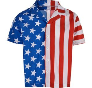 Patriotic American Flag Shirt