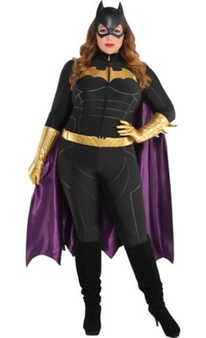 Adult Batgirl Jumpsuit Costume Plus Size - Batman