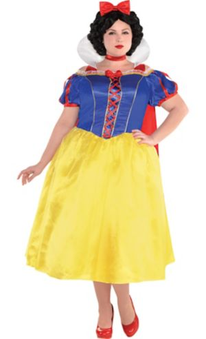Adult Snow White Dress Costume Plus Size