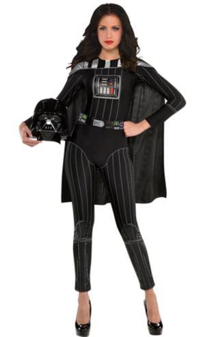 Adult Darth Vader Jumpsuit Costume - Star Wars