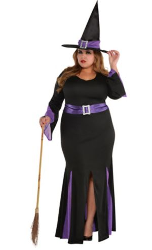 Adult Witchy Witch Costume Plus Size