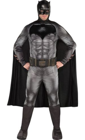Adult Batman Muscle Costume - Justice League Part 1