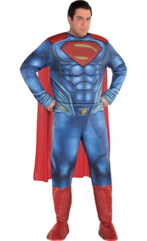 Adult Superman Muscle Costume Plus Size - Justice League Part 1