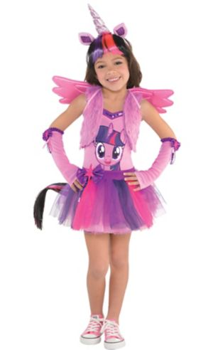 Little Girls Twilight Sparkle Costume - My Little Pony