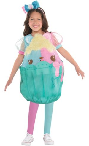 Little Girls Candie Puffs Costume - Num Noms