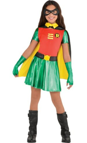 Girls Robin Costume - Batman