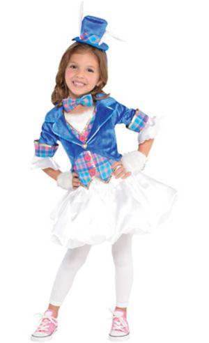 Toddler Girls White Rabbit Costume