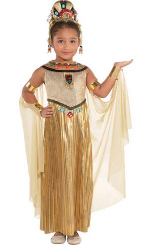 Little Girls Golden Goddess Costume