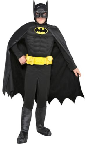 Boys Batman Muscle Costume