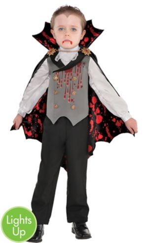 Little Boys Light-Up Bloody Vampire Costume