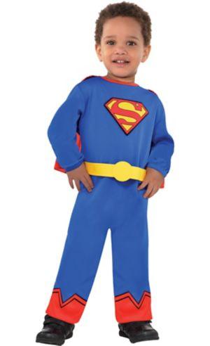 Baby Classic Superman Costume