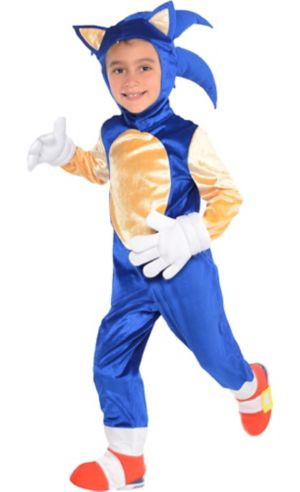 Little Boys Sonic Costume Deluxe - Sonic the Hedgehog