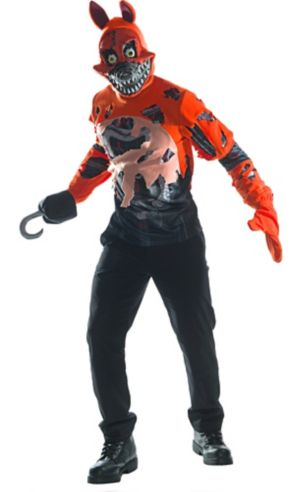 Adult Nightmare Foxy Costume - Five Nights at Freddy's 4
