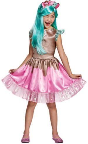 Girls Peppa-Mint Costume - Shopkins