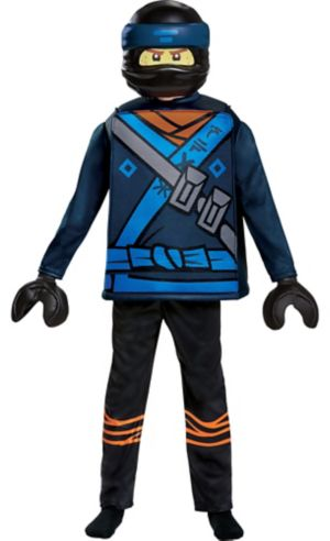 Boys Jay Costume - The Lego Ninjago Movie