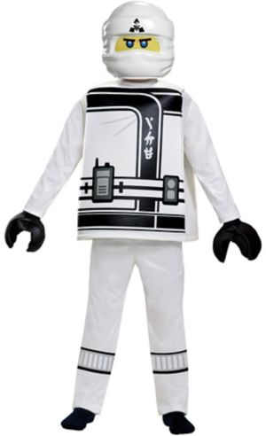 Boys Zane Costume - The Lego Ninjago Movie